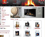 Создание сайта фирмы ПРОМЕТЕЙ - интернет-магазин по продаже печей и каминов